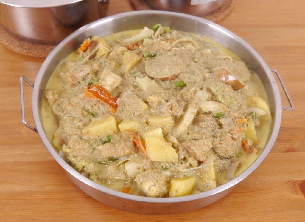 Lodeh Lontong Recipe Main